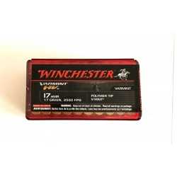 17 HMR WINCHESTER, 2550 FPS