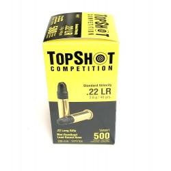 TOPSHOT 22 LR 500STK, 2,6G
