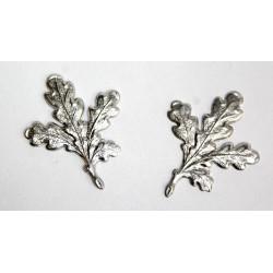 Sølvblade 2 stk.