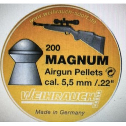 Magnum Hagl  200 stk....
